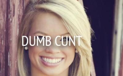 Dumb C*nts Prove Why Humans Gotta Go