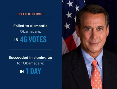 John Boehner and Republicans Bring Shame to our Country, Waste Tax Dollars